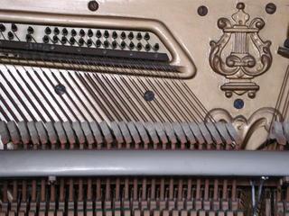 Klavier Saiten - Klavier, Saiten, Instrument, Musik, Akustik, Ton, Töne, Tastenisntrument