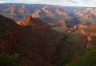 Grand Canyon #6 - Sonnenaufgang, Schlucht, Nationalpark, Unesco Weltnaturerbe, Colorado Plateau, Naturwunder, Arizona