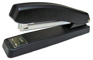 Hefter - Hefter, Heftgerät, Büromaterial, Schreibtisch, abheften, Ordnung, schwarz, Klammeraffe, Klammermaschine