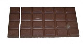 Bruchrechnung mit Schokolade #2 - Schokolade, Tafel, braun, süß, naschen, Stücke, Naschwerk, lecker, Bruch, Bruchrechnen, Teil, Teile, teilen, aufteilen, Brüche, Bruchteile, Bruchrechnung, Sechstel, sechs