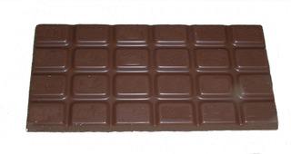 Bruchrechnung mit Schokolade #1 - Schokolade, Tafel, braun, süß, naschen, Stücke, Naschwerk, lecker, Bruch, Bruchrechnen, Teil, Teile, teilen, aufteilen, Brüche, Bruchteile, Bruchrechnung, Eintel, eins