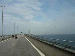 Oeresundbrücke #1 - Oersesundbrücke, Oeresund, Brücke, Ostsee, Malmö, Kopenhagen, Dänemark, Schweden, Verkehr