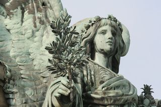 Niederwalddenkmal - Detail # 02 - Niederwalddenkmal, Denkmal, Rüdesheim, Deutsch-Französischer Krieg 1870/71, Kaiserreich