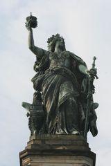Niederwalddenkmal - Detail # 06 - Niederwalddenkmal, Denkmal, Rüdesheim, Deutsch-Französischer Krieg 1870/71, Kaiserreich