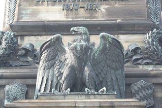 Niederwalddenkmal - Detail # 09 - Niederwalddenkmal, Denkmal, Rüdesheim, Deutsch-Französischer Krieg 1870/71, Kaiserreich