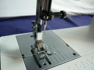 Pfaff selecht 2.0 - Detail - Pfaff, Nähmaschine, Nähfuß, Stichplatte, Nähmaschinennadel, Transporteur