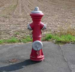 Hydrant - Wasser, löschen, Löschwasserversorgung, Sammelwasserversorgung, Überflurhydrant, Kupplungen, Feuerwehr