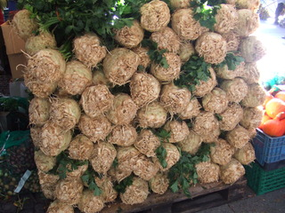 Sellerie - Gemüse, Sellerie, Markt, Marktstand, Landwirtschaft, Ernährung, Knollensellerie
