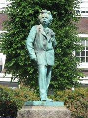 Edvard Grieg Denkmal in Bergen / Norwegen #2 - Edvard Grieg, Musik, Romantik, Statue