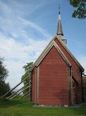 Älteste norwegische Stabkirche in Kvernes - Kirche, Stabkirche, Norwegen