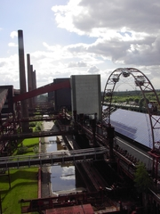Kokerei Zollverein 1 - Bergbau, Kokerei, Koks, Essen, Weltkulturerbe, Ofenbatterie, Riesenrad, Fabrik, Ruhrgebiet, Industriedenkmal, Industrie, Zeche Zollverein, Chemie