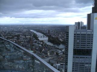 Frankfurt/Main #3 - Frankfurt/Main, Stadt, Blick, Luftbild, Maintower, Hochhäuser, Main