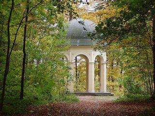 Ansichten - Herbst, Jahreszeit, Ansichten, Eindrücke, Meditation, Perspektiven, Pavillion, Halbkugel