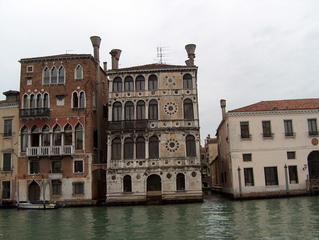 Frührenaissance-Palazzo - Palazzo, Palazzo Dario, Marmorfassade, Canal Grande, Venedig, Frührenaissance, Renaissance, Kanal, Lombardo, Palazzo