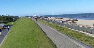 Deich - Deich, Küstenschutz, Nordsee, Böschung, Strand