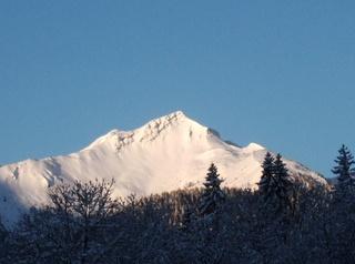 Scheinberg - Berg, Winter, Schnee, Bayern, Scheinberg, Ammergauer Alpen