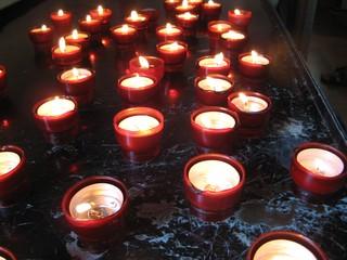 Kerzen - Advent, Kerze, Kerzen, Kerzenglas, Weihnachtszeit, besinnlich, Flamme, hell, brennen, Licht