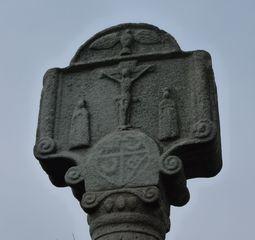 Marterl in der Rhön #2 - Kruzifix, Kreuz, Religion, Christus, Symbol, Kirche, Wegweiser, Kreuzigung, Wegkreuz, Marterl, Bildstock