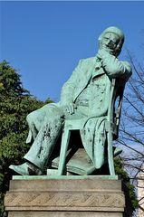 Schumann-Denkmal - Schumann, Robert, Komponist, Denkmal, Plastik, Bronze, Zwickau, Skulptur