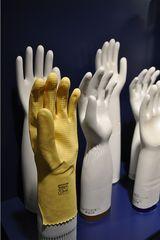 Gummihandschuh - Form, Keramik, gießen, Handschuhe, Gummi, Gummihandschuhe, Industrie, Fertigung, weiß