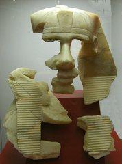 Pharao Chephren - Ägypten, Antike, Hochkultur, Pharao, Chephren, vor 4500 Jahren, 2500 vor Chr., Kalzit, Gizeh, Kairo