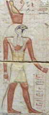 Gott Horus - Ägypten, Antike, Hochkultur, Pharao, Totenkult, Götter, Horus, Osiris, Isis, Totengericht