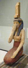 Göttin Isis - Ägypten, Antike, Hochkultur, Pharao, vor 2300 Jahren, 300 vor Chr., Grab, Totenkult, Götter, Göttin, Isis, Osiris