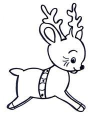 Rentier - Weihnachten, Winter, Rentier, Spielzeug, Illustration