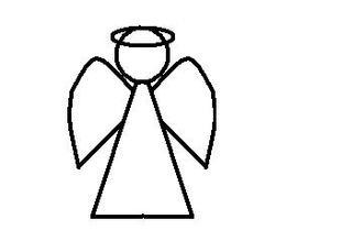 Engel - Engel, Weihnachten, Bote, Botschafter, Religion, geistliches Wesen, Flügel, Engelsflügel, Illustration