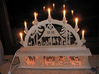 Schwibbogen #2 - Tradition, Weihnachten, Fenster, Licht, Wärme, Kerzen, Holz, Holzkunst, Wald, Krippe, Futterkrippe