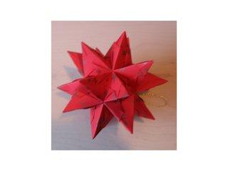 Bascettastern - Bascettastern, Papier, falten, basteln, Weihnachten, Stern