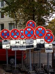 ...klare Ansage... - Absolutes Halteverbot, Verkehrszeichen, Schild, Hinweisschild, Verbotszeichen