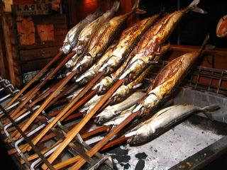 Räucherfisch - Räucherfisch, räuchern, konservieren, Haltbarmachung, garen, selchen, warmräuchern