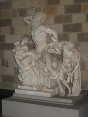 Laokoongruppe - Laokoongruppe, Klassik, Skulptur, Statue, Marmor, Dynamik, Troja, Lessing, Winckelmann, Bildhauerei, Plastik, Mythologie, Schlangen, Kunst