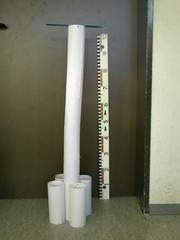 Turm - Turm, Turmbau, Kleber, Klebestift, Stabilität, Papier, Versteifung, Architektur, basteln, Kreativität