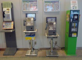 Telefone - Telefon, Japan, Gabel, Schnur, Hörer, Kommunikation, Akustik, Elektromagnetismus, Physik, Fernsprecher, Fernsprechautomat