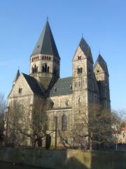 Temple Neuf - Neugotik, Architektur, Kirche, Metz, Lothringen, wilhelminisch, 19 Jahrhundert, Frankreich