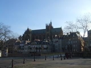 Kathedrale in Metz - Kirche, Kathedrale, Mezt, Gotik, Architektur, Religion, Spitzbogen
