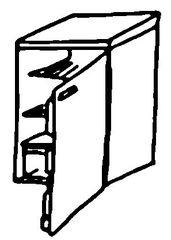Kühlschrank - Kühlschrank, kalt, Eis, kühlen, frieren, Gefrierfach, frisch, Quader, Volumen, Wärmelehre