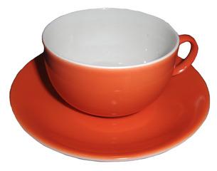 Geschirr: Tasse und Untertasse - Tasse, Untertasse, Gedeck, Geschirr, Frühstück, frühstücken, Kaffeetasse, Teetasse, trinken
