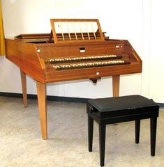 Cembalo - Cembalo, Saiteninstrument, Zupfinstrument, Kiel, Tasten, Manual, Resonanzkörper, Barock