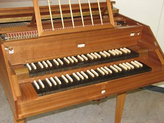 Cembalo - Manuale - Cembalo, Manual, Tasten, Saiteninstrument, Zupfinstrument