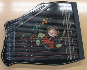 Akkordzither - Zither, Zupfinstrument, Saiteninstrument, Resonanzkörper
