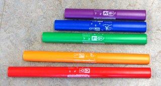 Boomwhackers chromatisch - Schlaginstrument