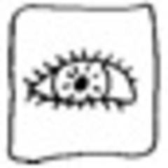Auge, mini - Auge, sehen, mini, Piktogramm