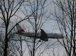 Flugzeug #3 - Flugzeug, Linienmaschine, fliegen, verreisen, Urlaub, Auftrieb