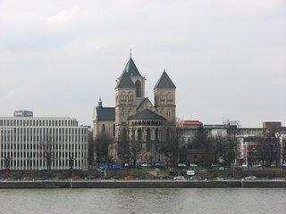 Köln St. Kunibert - Köln, Kirche, romanisch