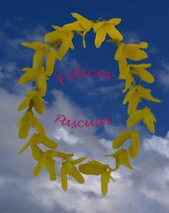 Ostergruß  spanisch - Ostern, Ostergruß, Postkarte