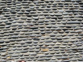 Steinboden - Steine, Boden, Struktur, Muster, Oberfläche, Kies