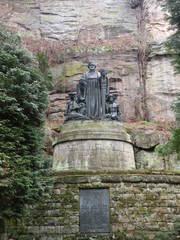 Wagner-Denkmal_2 - Richard Wagner, Denkmal, Oper, Lohengrin, Sächsische Schweiz, Liebethaler Grund